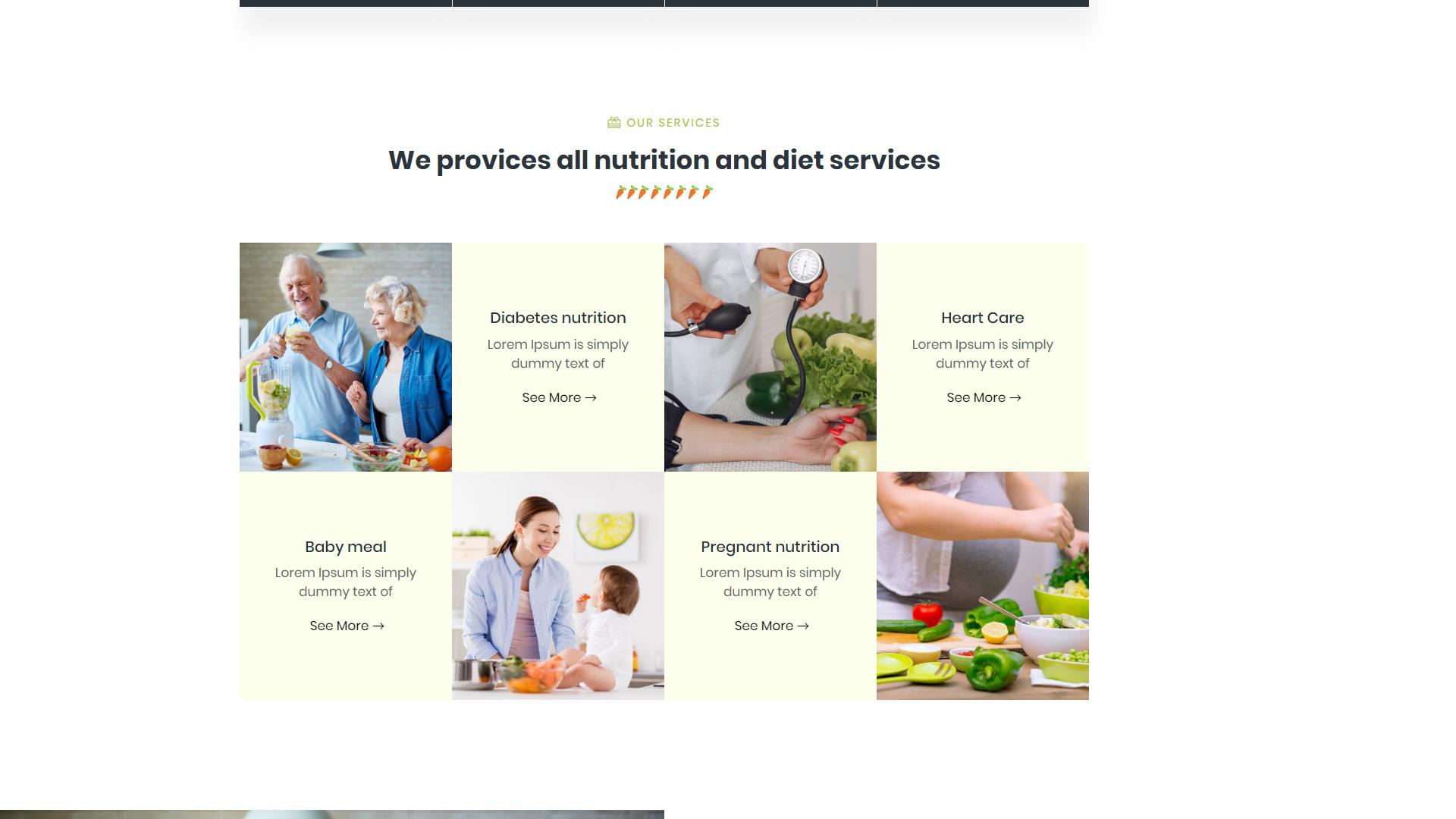 Nutimeal - Nutrition & Diet Elementor WordPress Theme