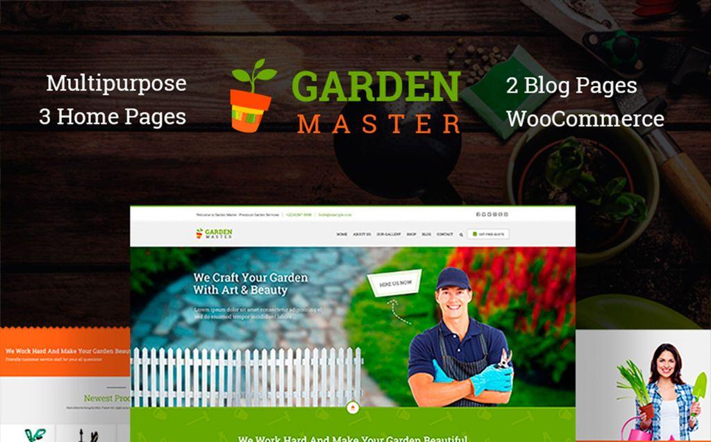 Garden Master - Gardening Website Template