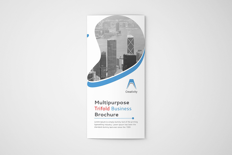 Trifold-Brochure Corporate Identity