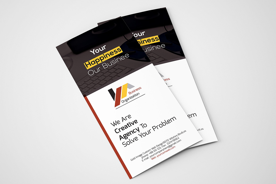 Trifold Brochure Corporate Identity