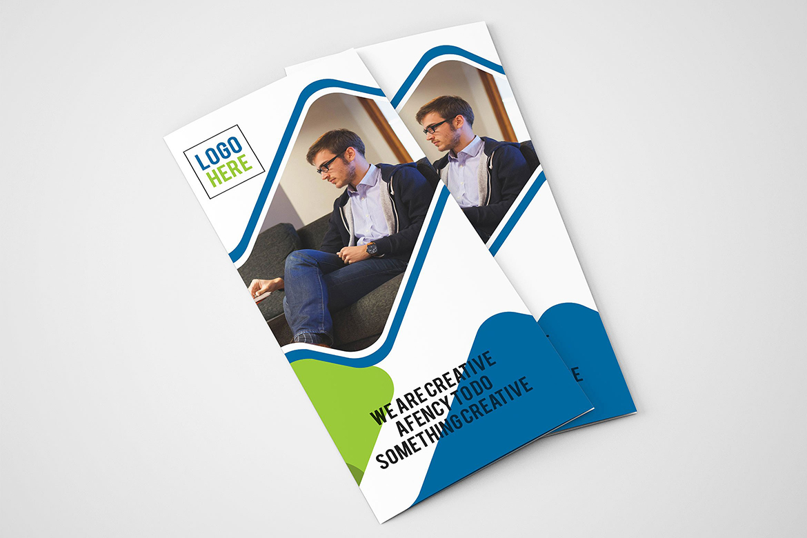 Business Trifold Brochure Corporate Identity