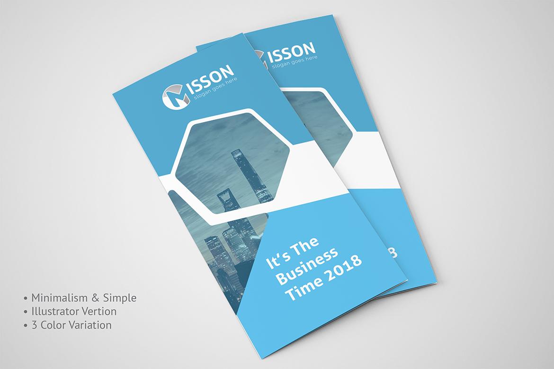 Creative Trifold Brochure Corporate Identity