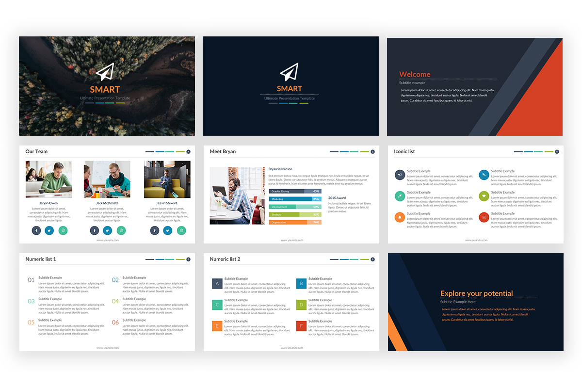 Smart PowerPoint Template