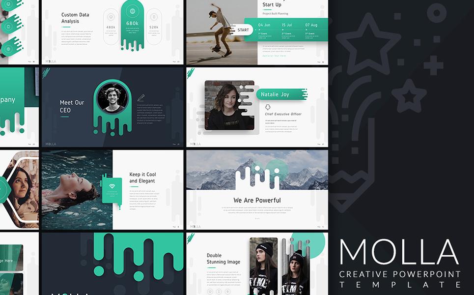 Molla Creative PowerPoint Template