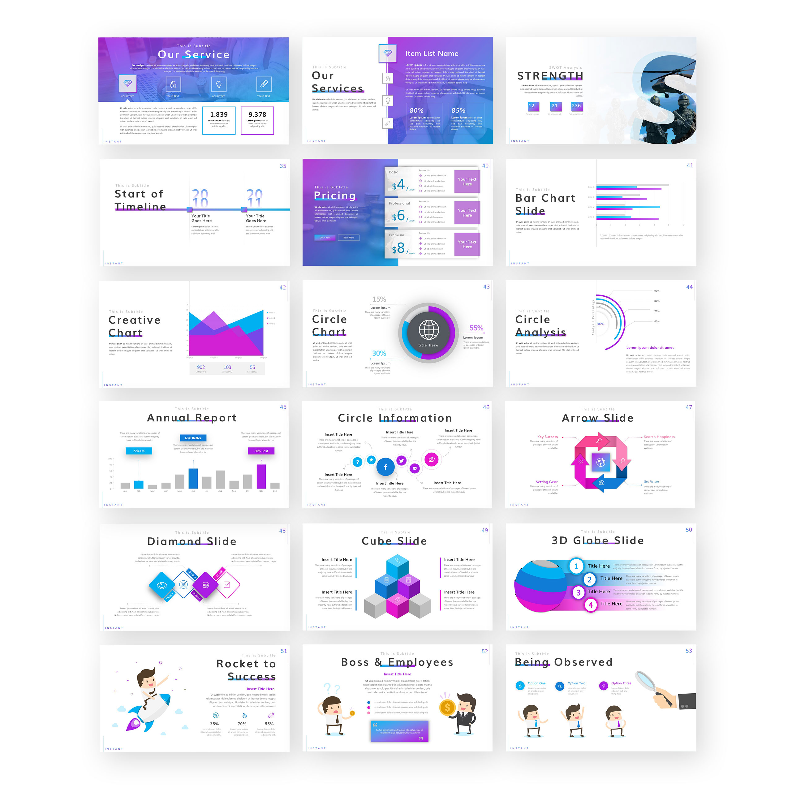 Instant PowerPoint Template