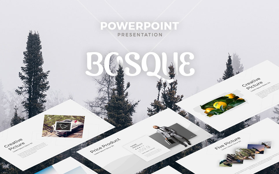 Bosque - Creative PowerPoint Template