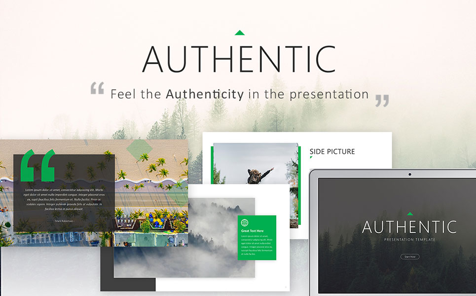 Authentic - PowerPoint Template