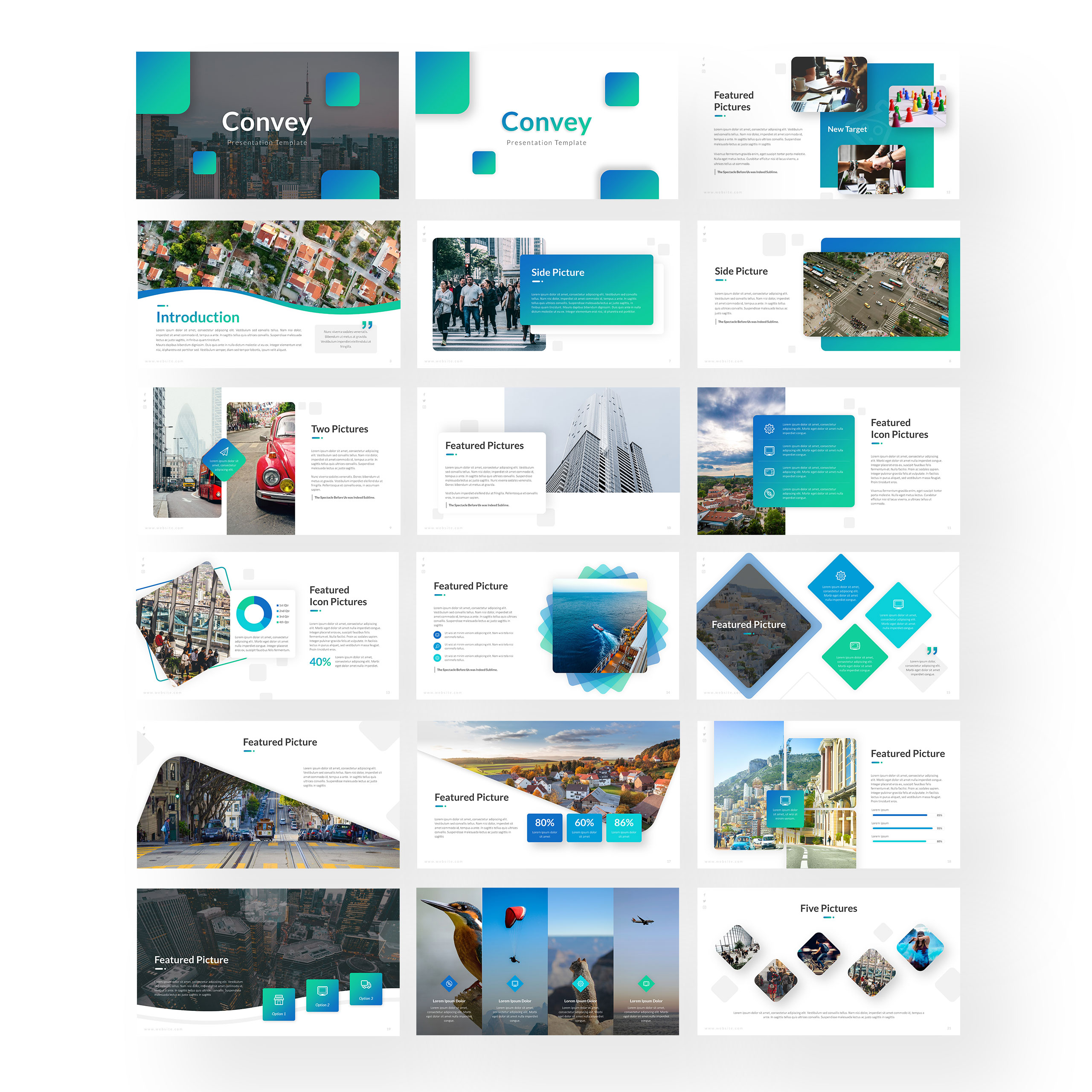 Convey - Business PowerPoint Template