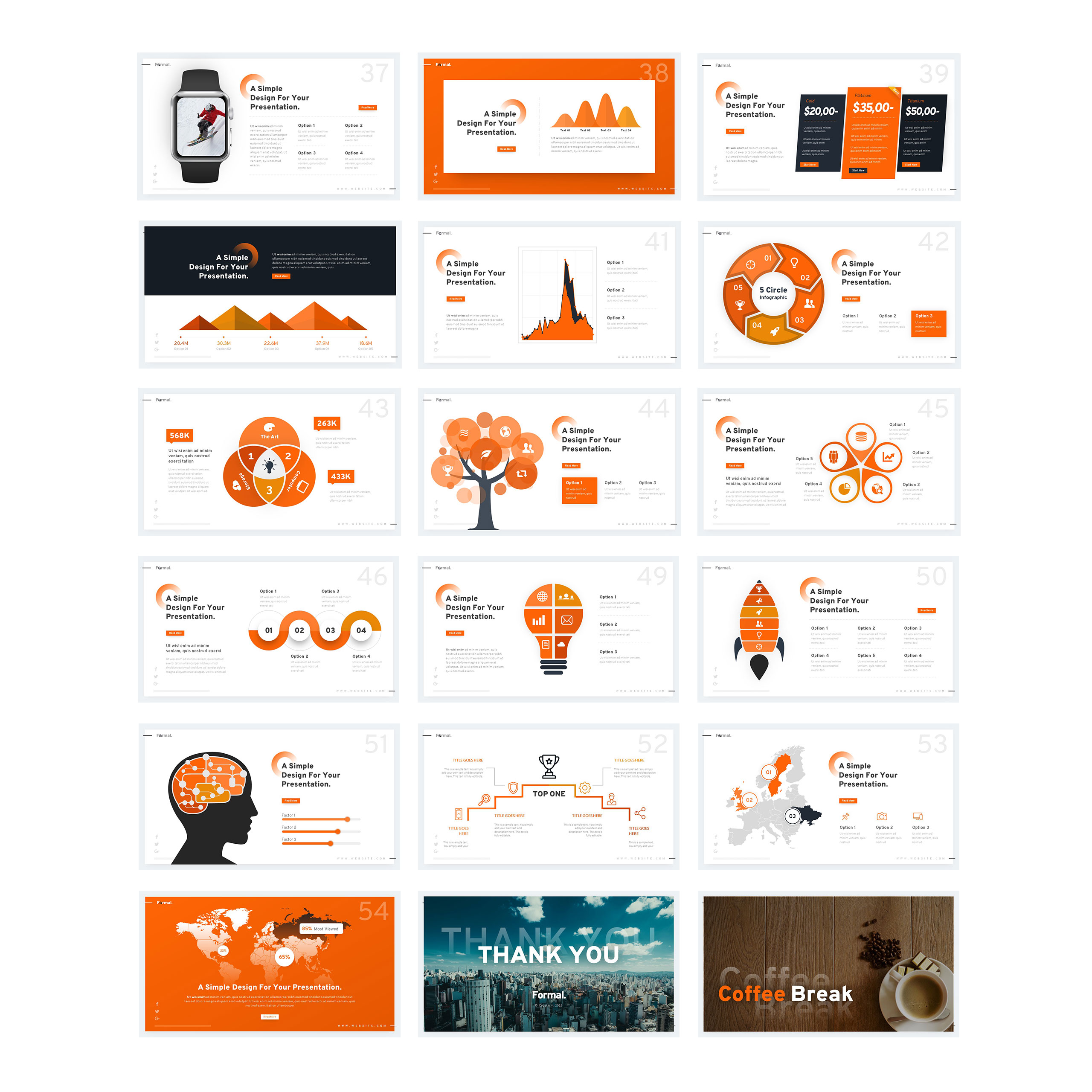 Formal - PowerPoint Template