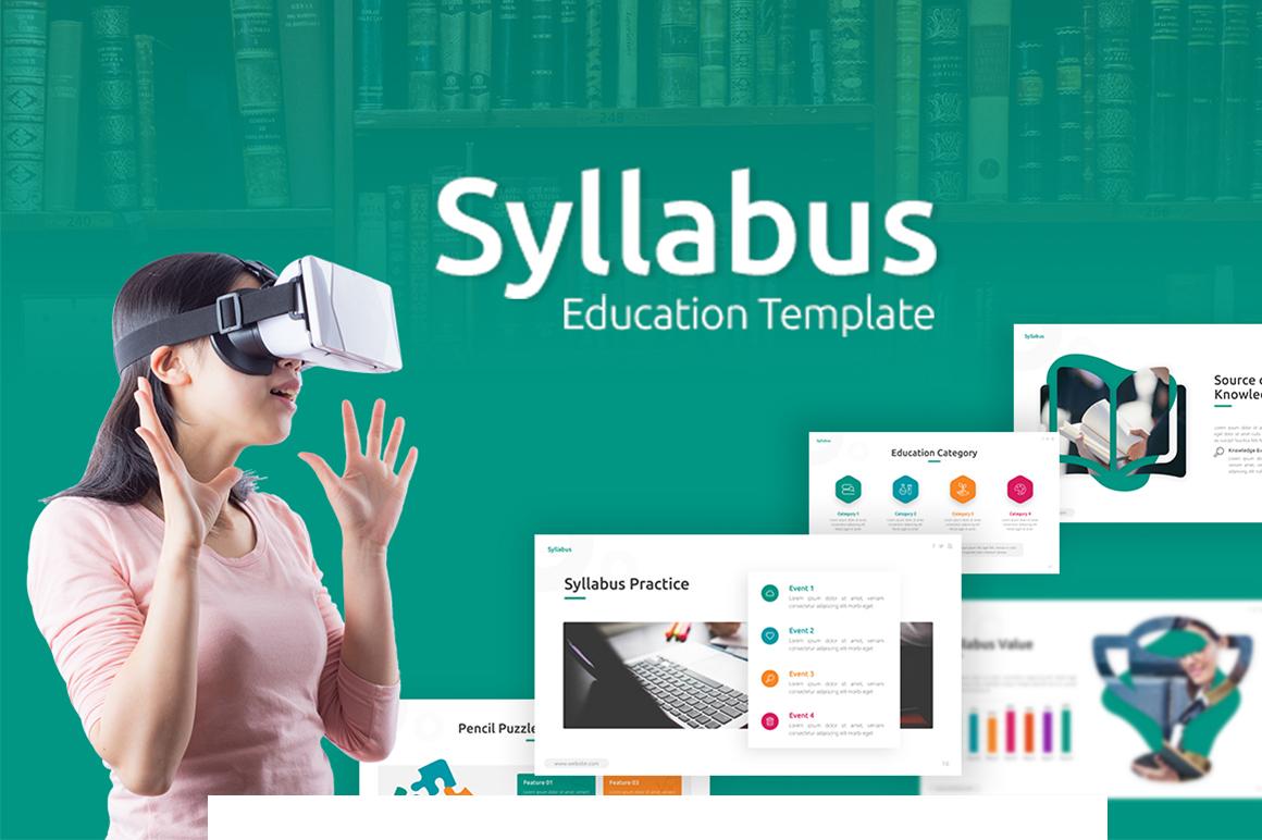 Syllabus - Education PowerPoint Template