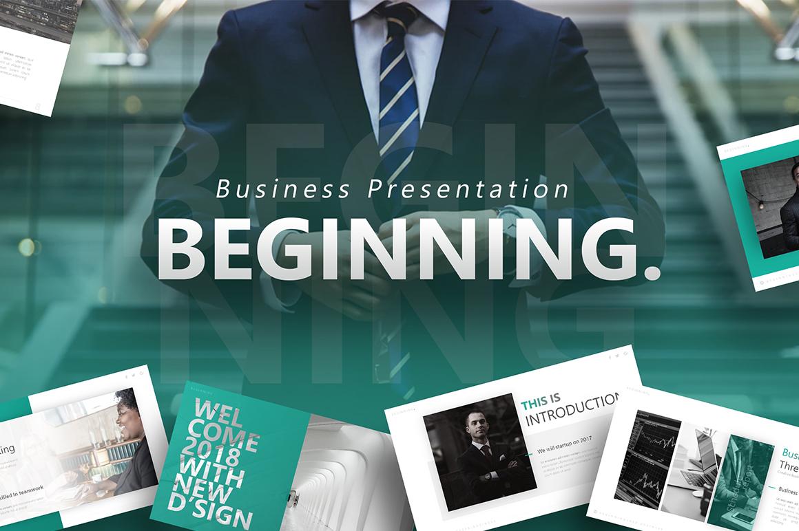 Beginning - Business PowerPoint Template