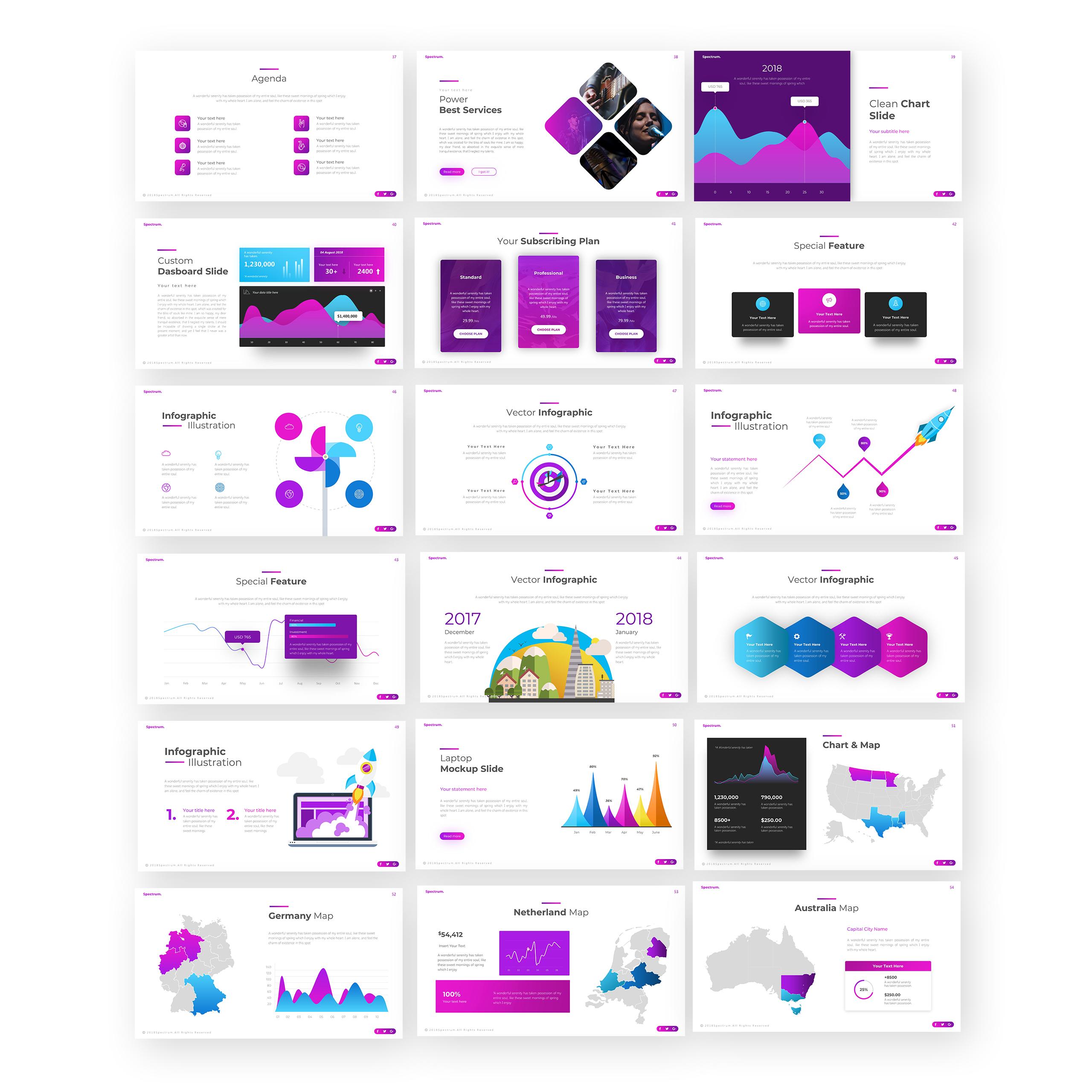 Spectrum PowerPoint Template