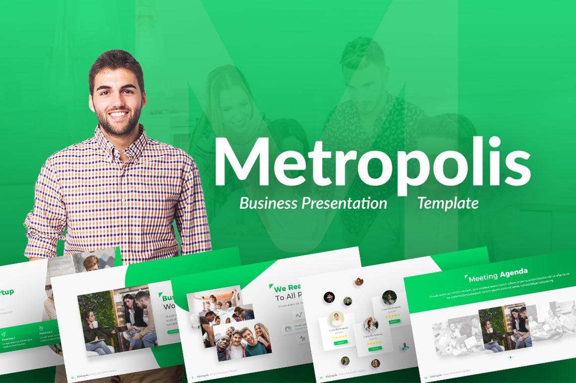 Motropolis - Business PowerPoint Template