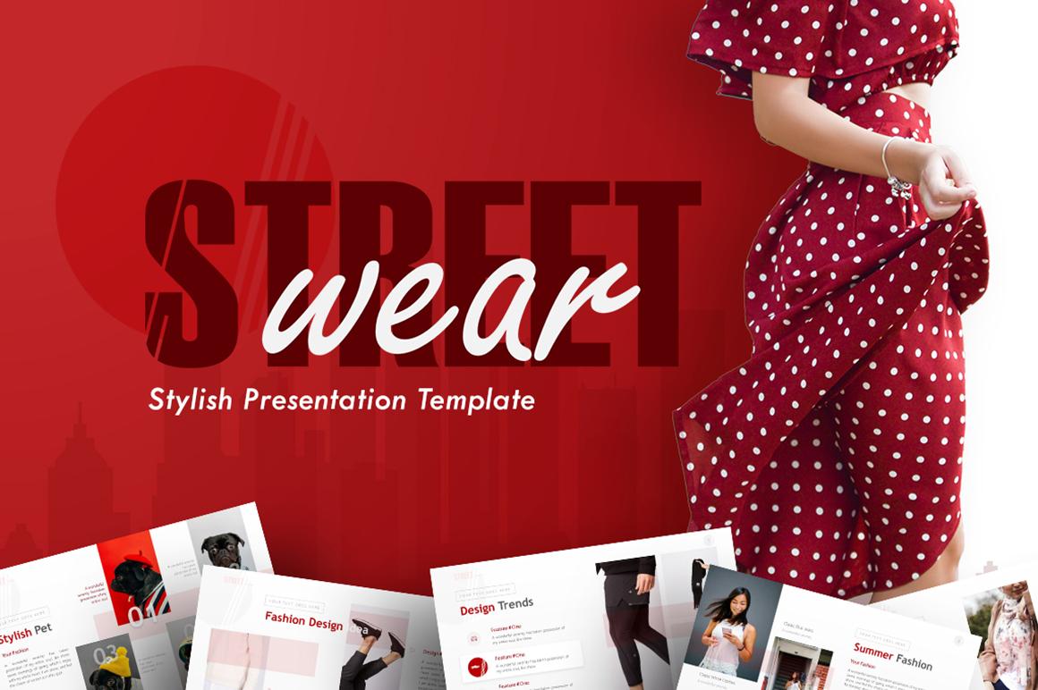 Street Wear - Stylish PowerPoint Template