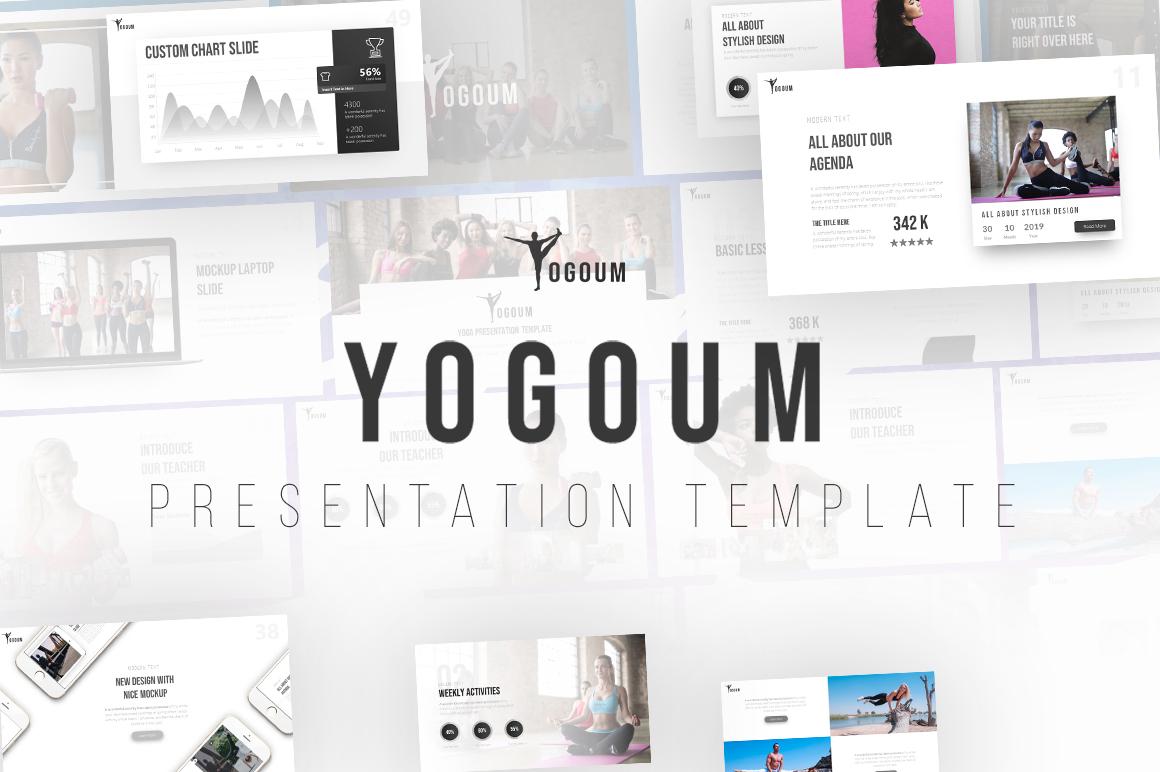 Yogoum - Yoga PowerPoint Template