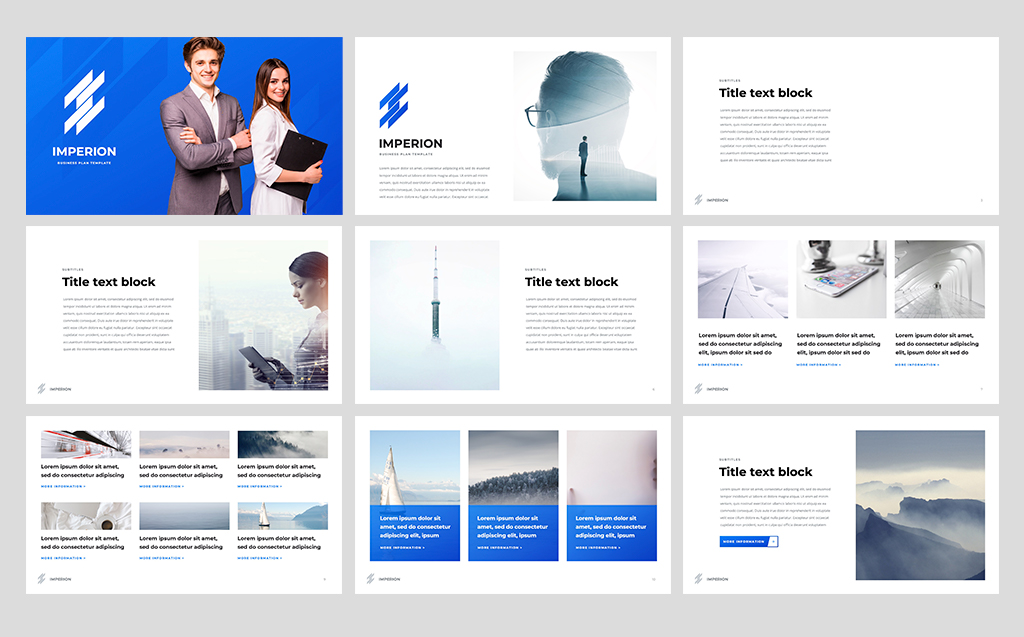 Proposal Business - PowerPoint Template