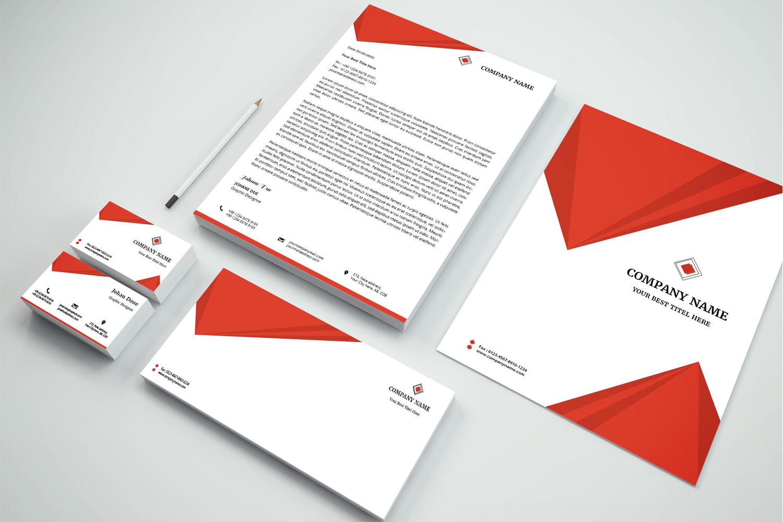 Creative Geometrical Corporate Identity