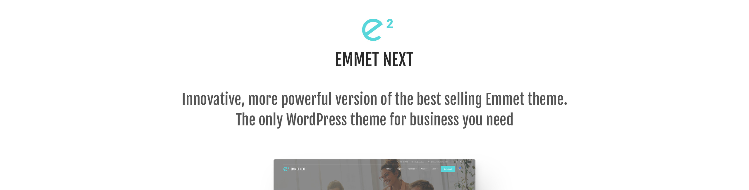 Emmet Next - Multipurpose Business WordPress Theme