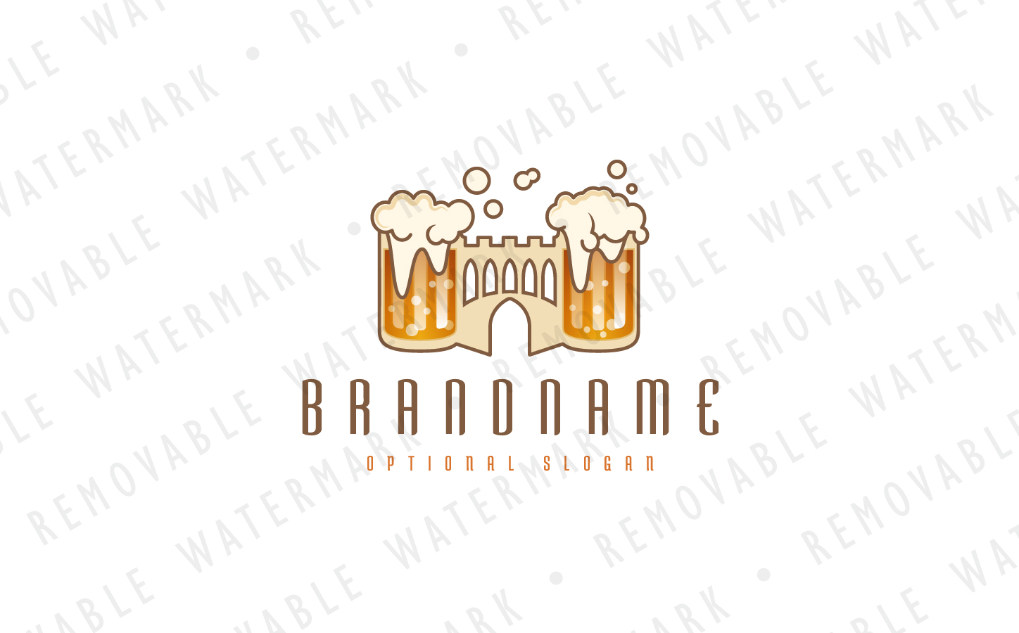 Beer Castle Logo Template
