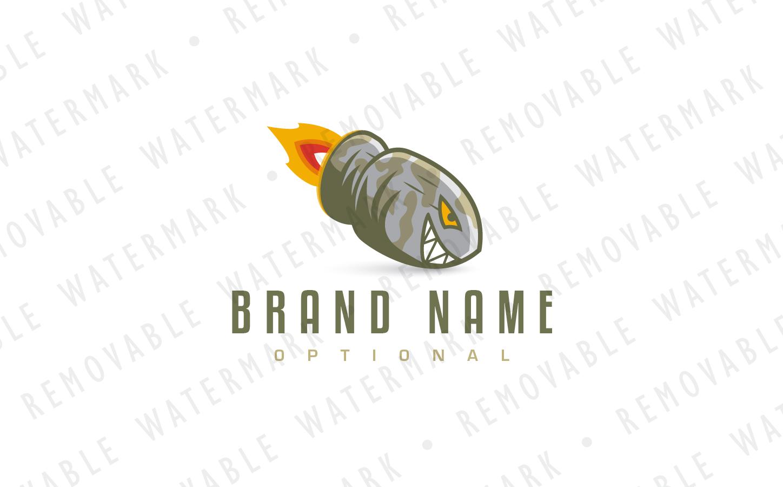 Shark Bullet - Logo Template