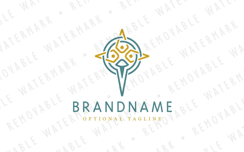 Holy Cross Logo Template