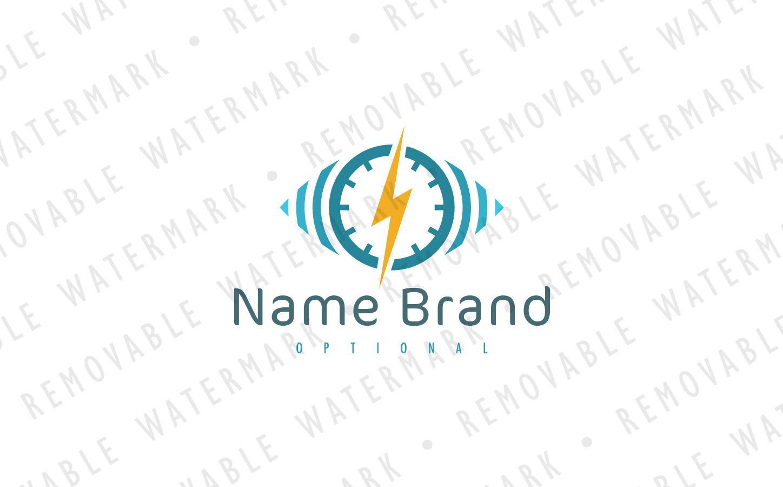 Thunder Monitoring Logo Template