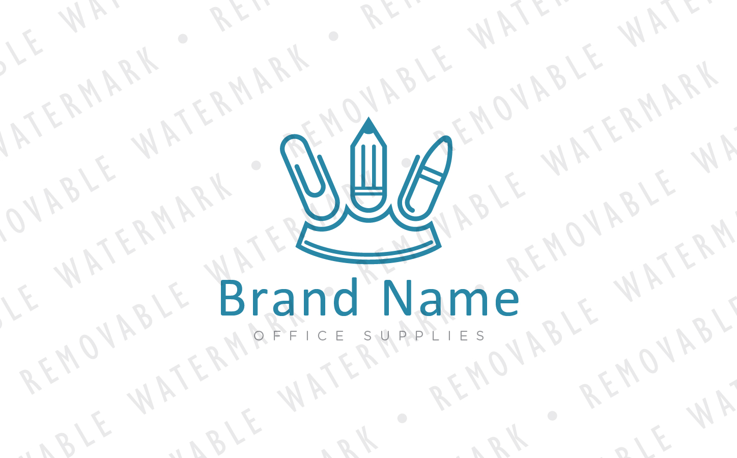 King of Office Logo Template