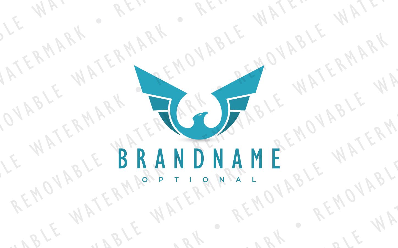 Ascending Bird Logo Template