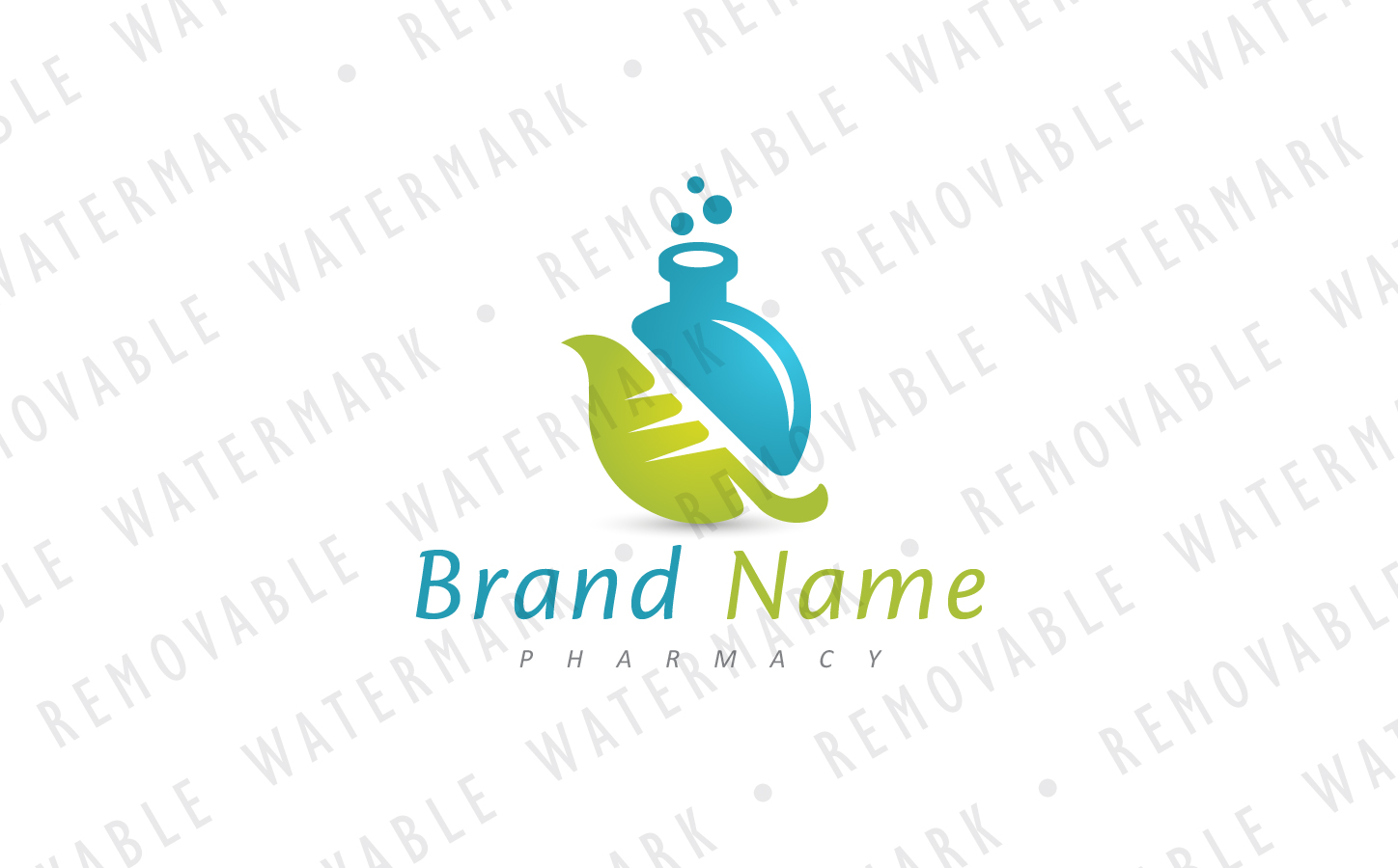 Natural Lab Logo Template