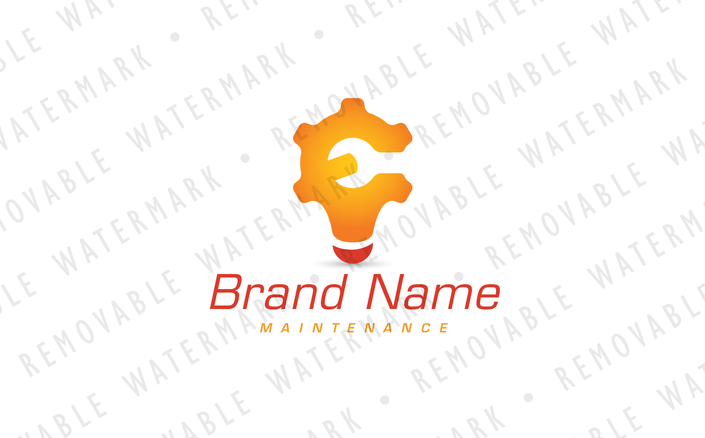 Smart Maintenance Logo Template