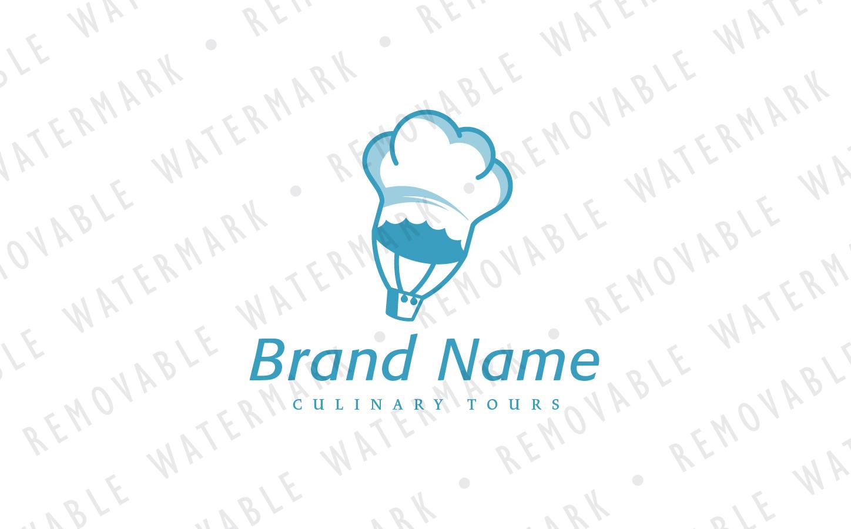 Balloon Chef Logo Template
