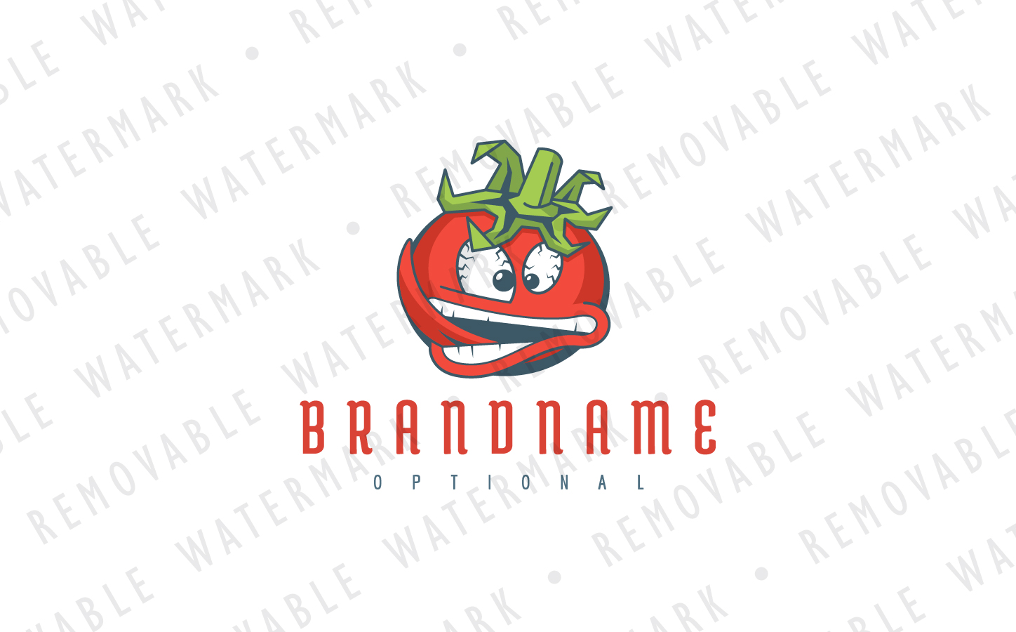 Mad Tomato Logo Template