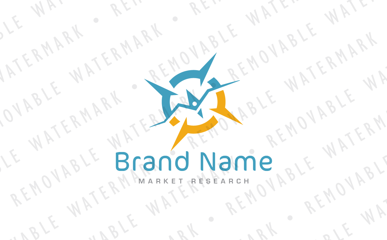 Compass of Marketing Logo Template