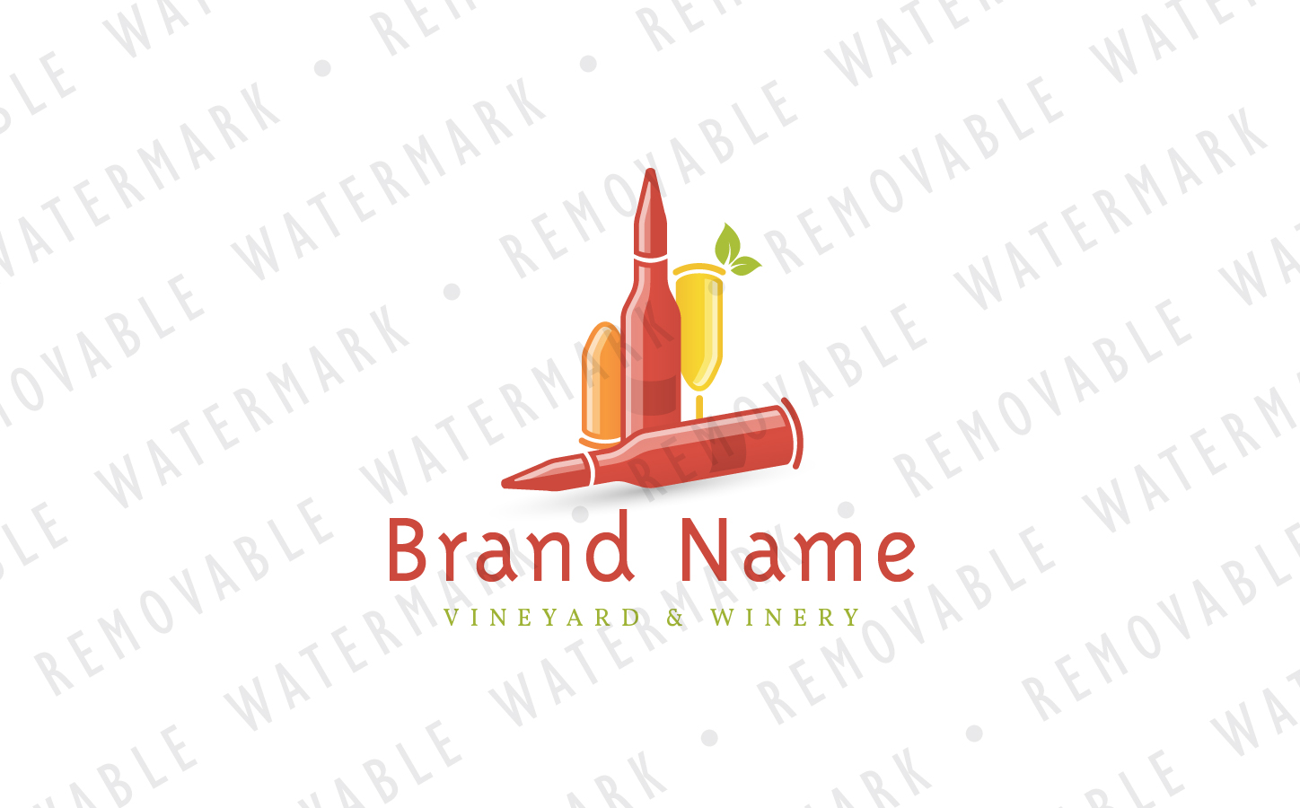 Ammunition Wines Logo Template