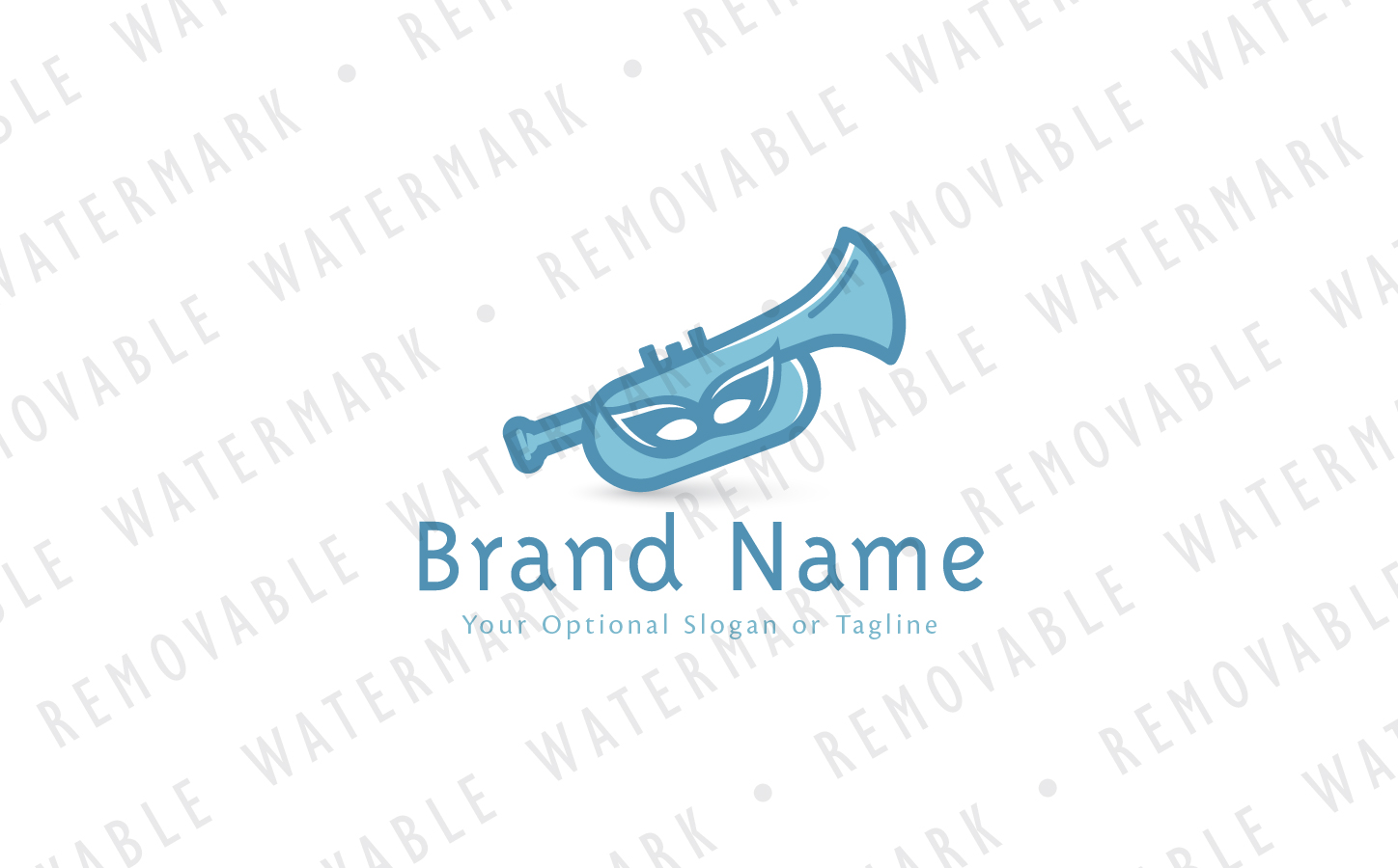 Trumpet of Events Logo Template