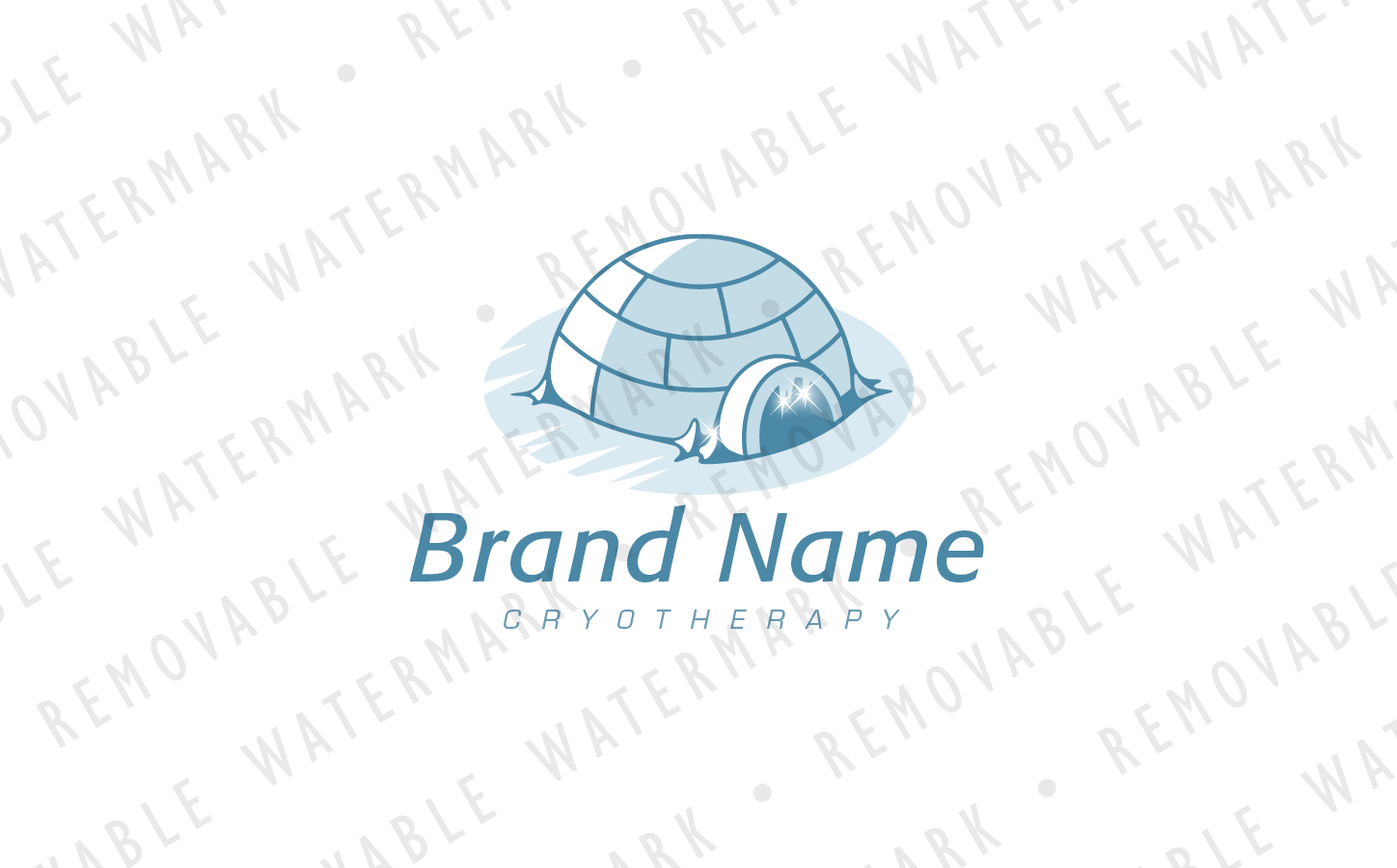 Arctic Igloo Logo Template