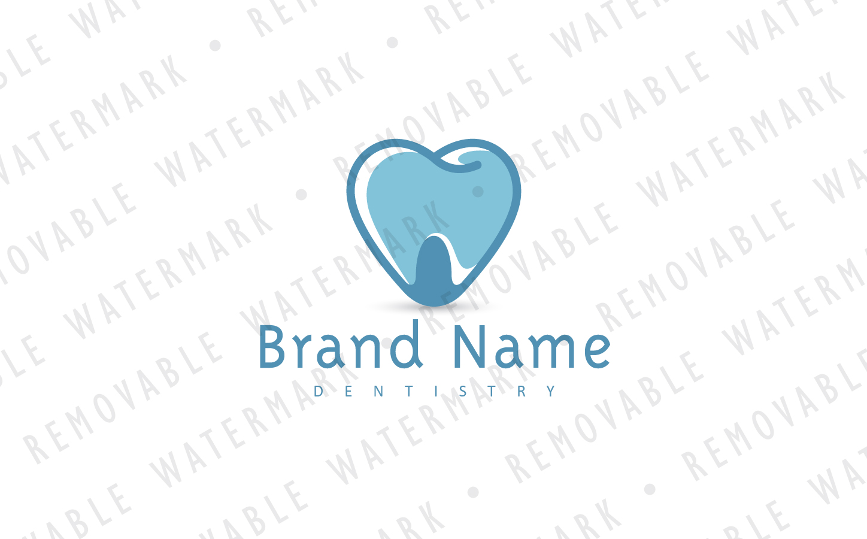 Dental Heart Logo Template