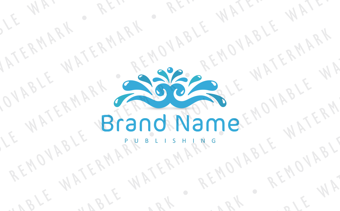 Fountain of Knowledge Logo Template