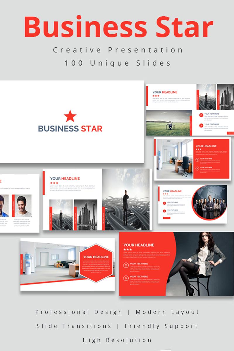 Business Star Powerpoint Template