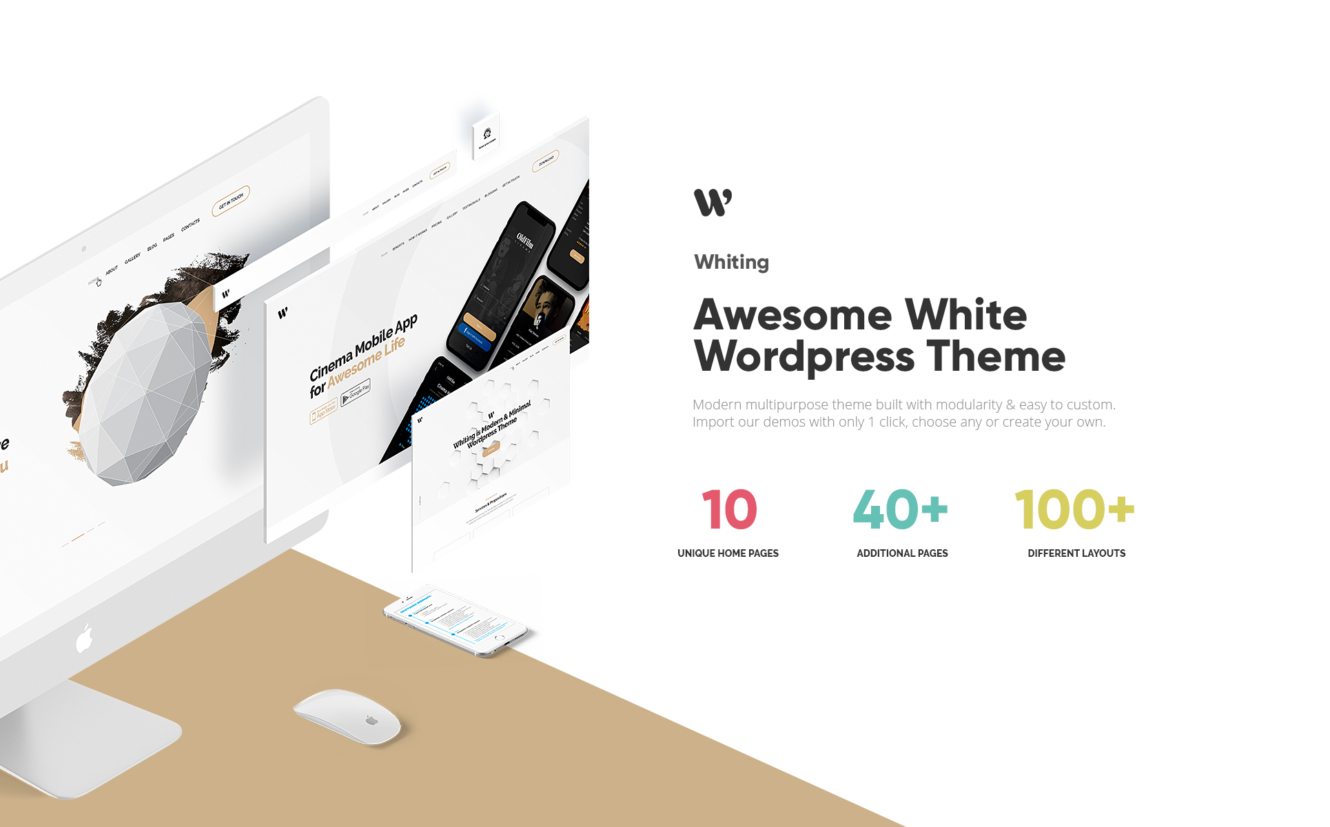 Whiting - Business Portfolio WordPress Theme