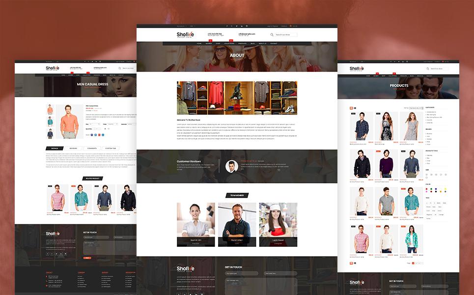 Shofixe Website Template