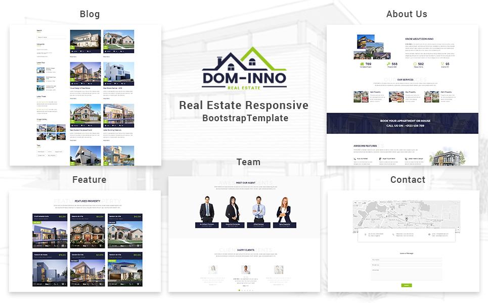 Dominno - Real Estate Responsive Website Template