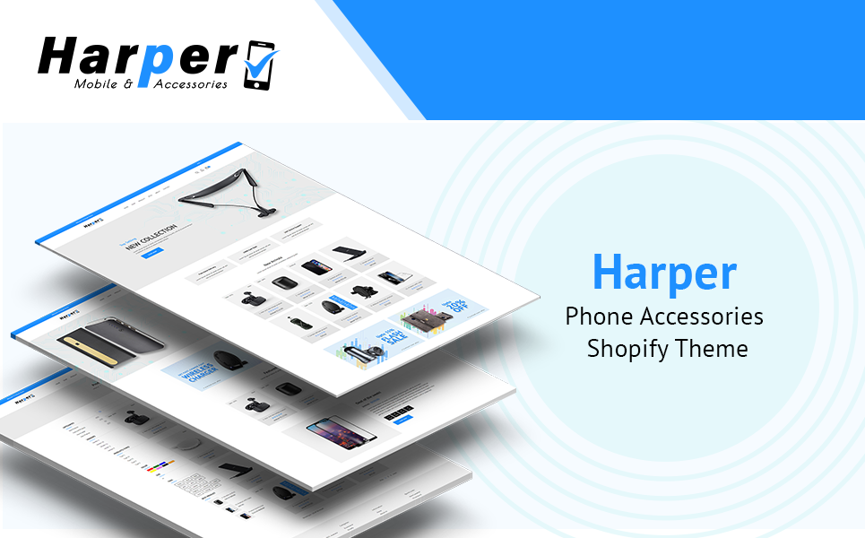 Harper - Phone Accessories Shopify Theme