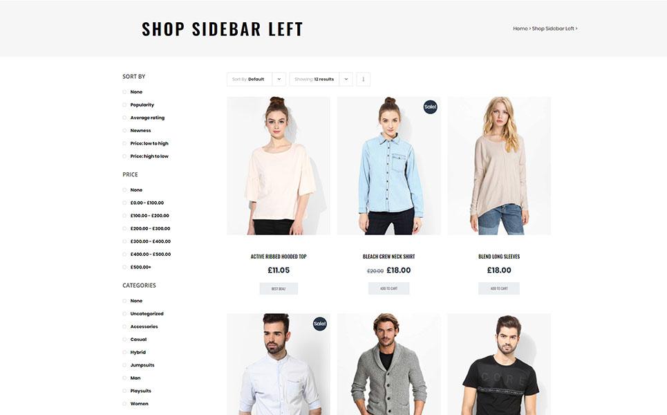 Fura - Fashion WooCommerce Theme