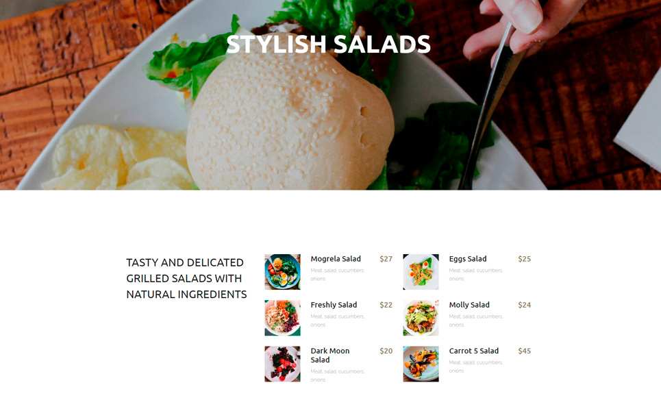 Kolbern Burger Bar & Cafe WordPress Theme
