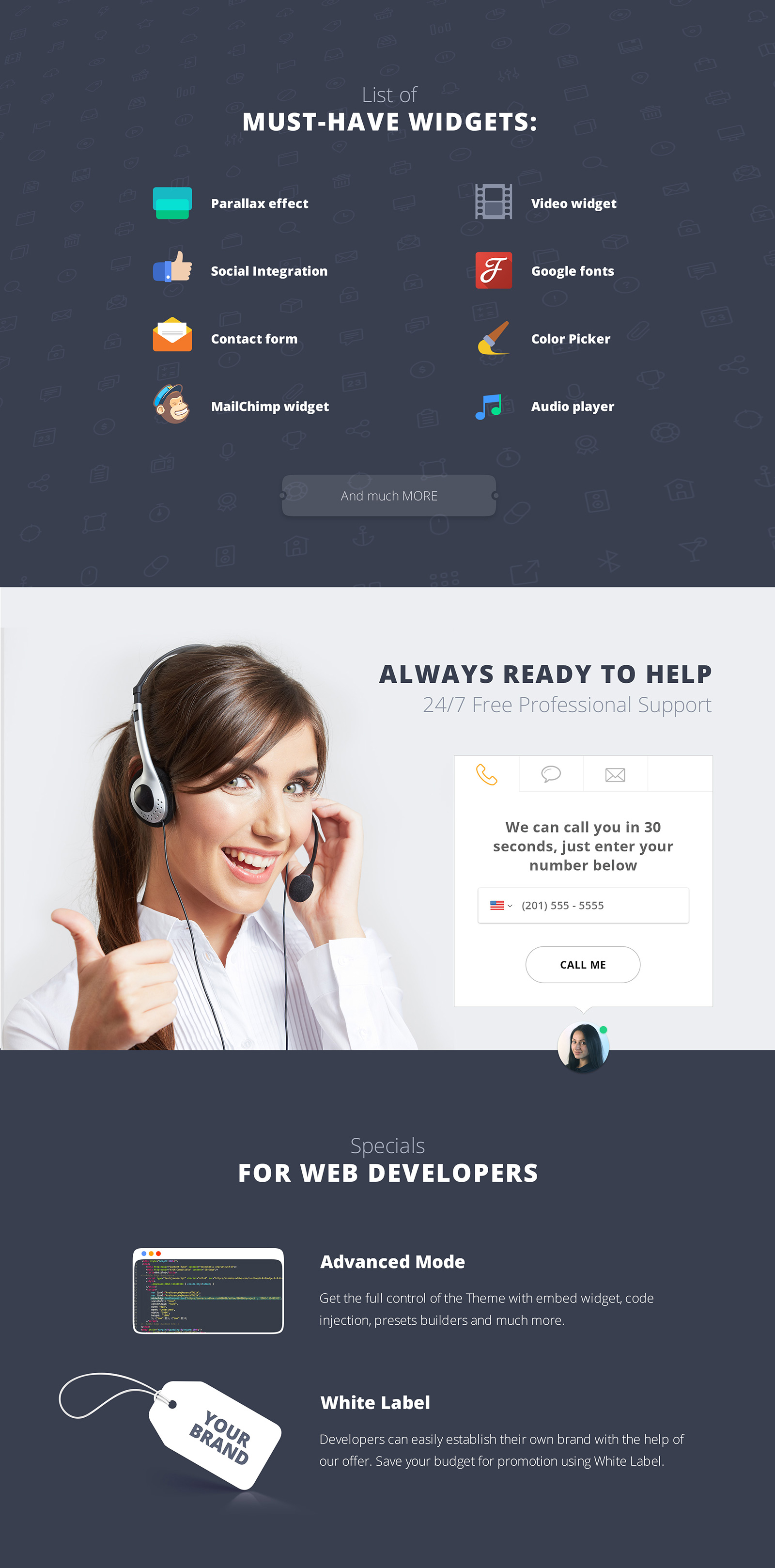 LUCKY Showroom Landing Page Template