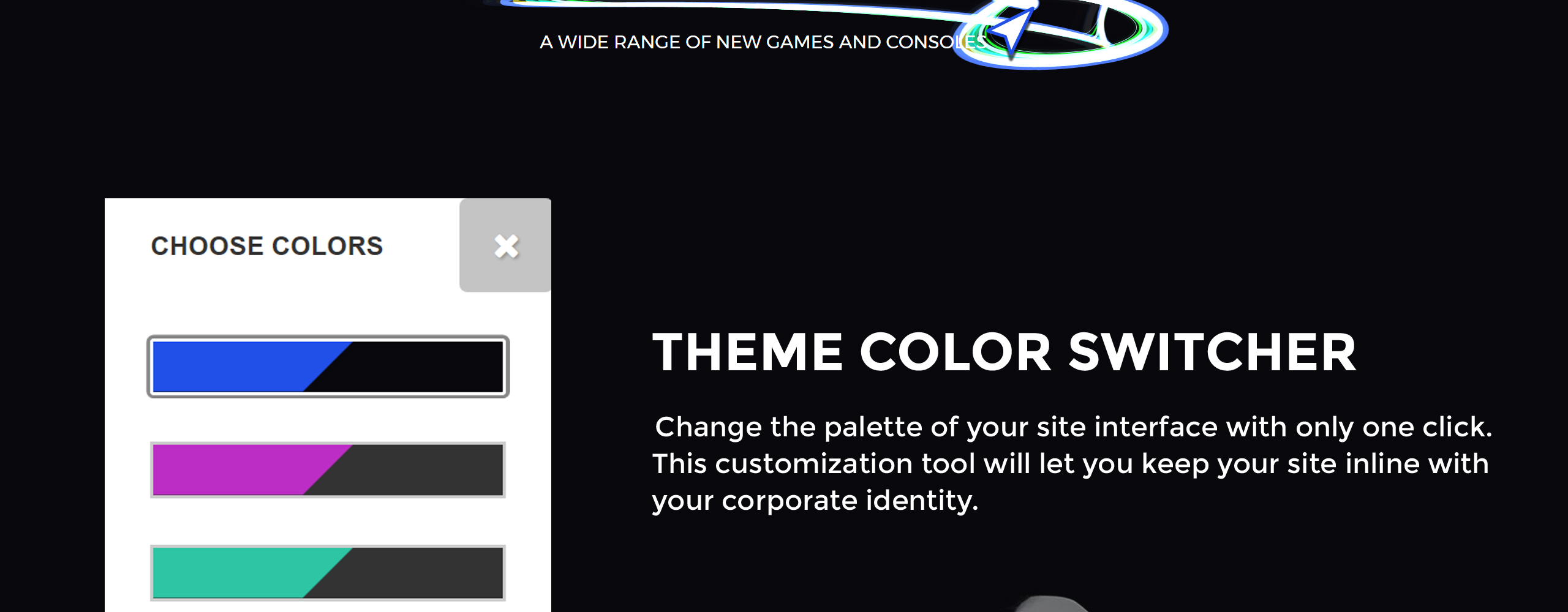 Game Console - Bright Gaming Shopify Theme