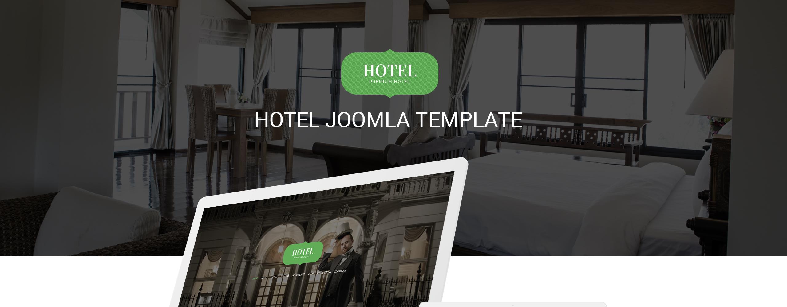 Hotel, Travel & Casino Joomla Template