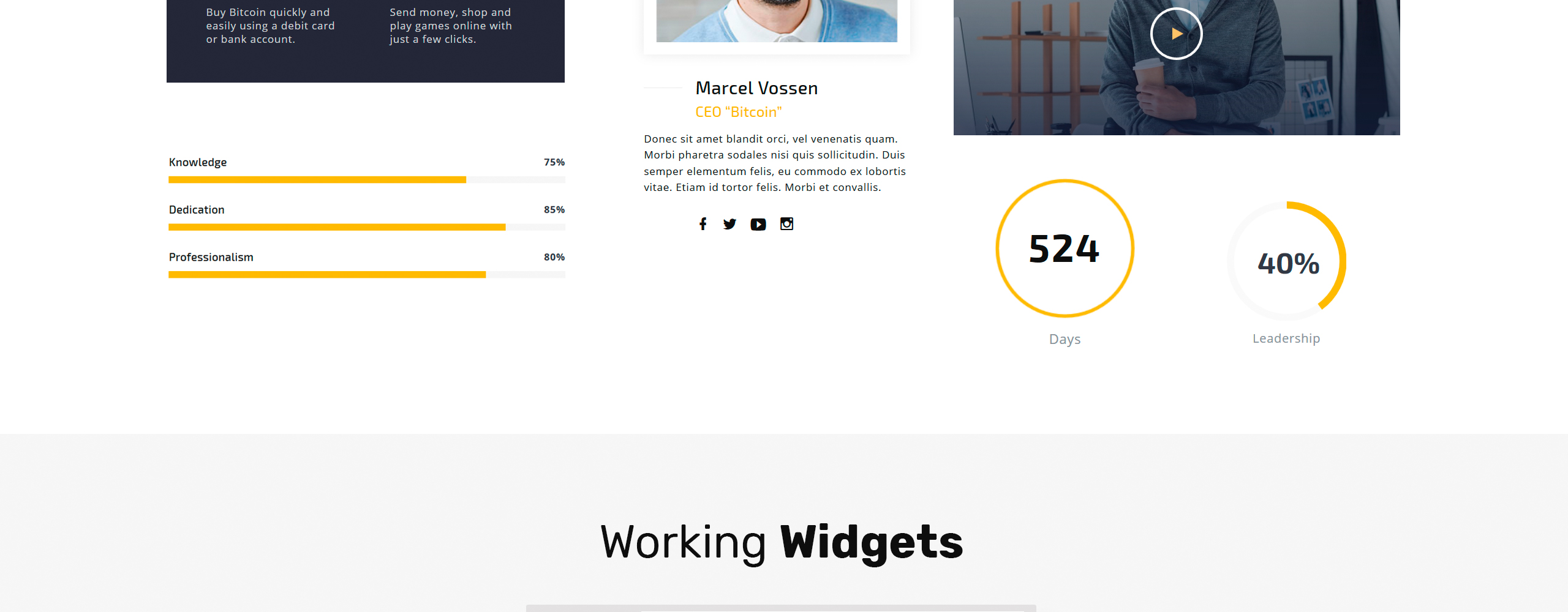 Conbit Website Template