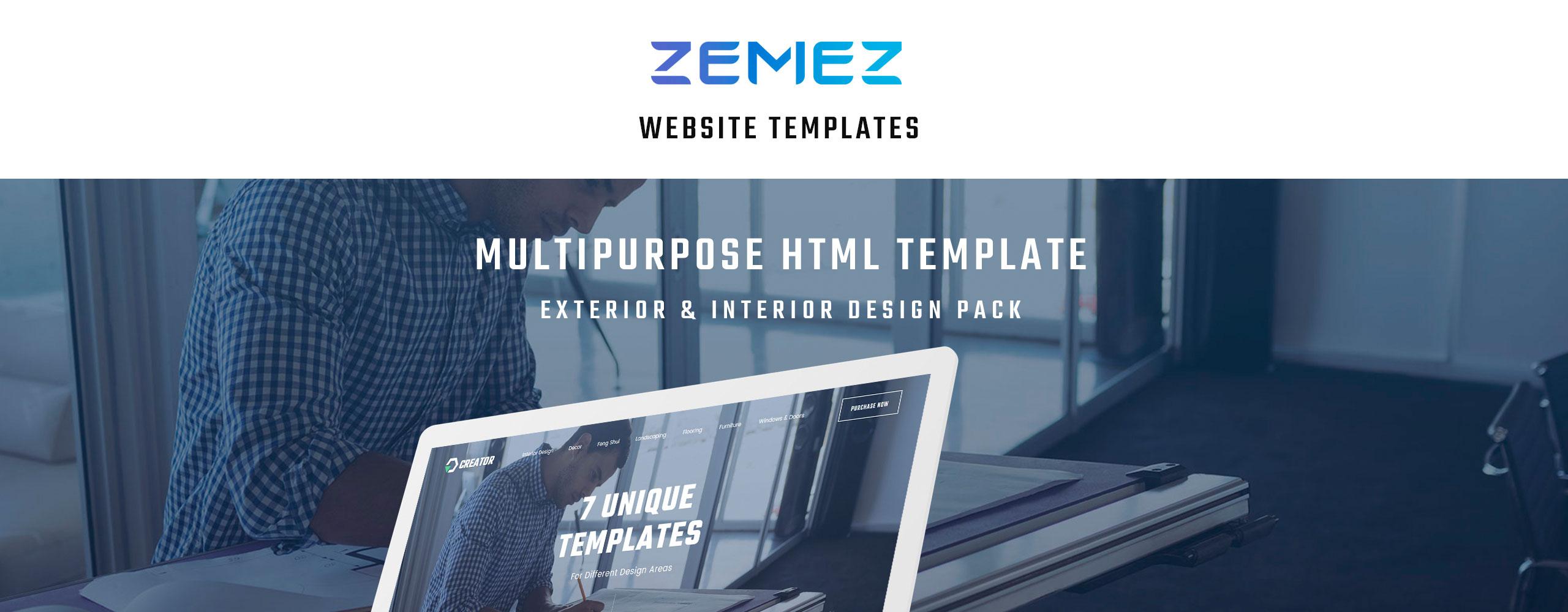 Creator Website Template